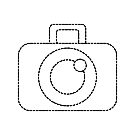 graphic design camera studio icon symbol vector illustration