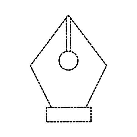 万年筆インク要素デザイン グラフィック ベクトル図  イラスト・ベクター素材