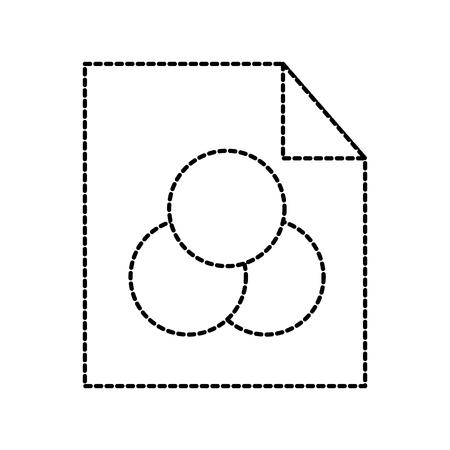 グラフィック デザインの色選択ボタン イメージ ベクトル イラスト