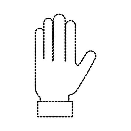 デザイン グラフィックの手ツール ボタン選択ベクトル図  イラスト・ベクター素材