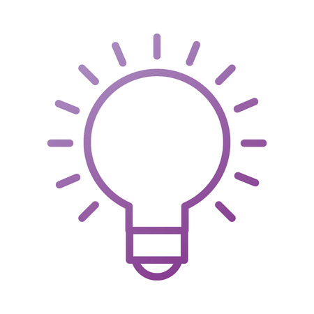 idea creative concept bulb graphic and designer vector illustration Ilustração