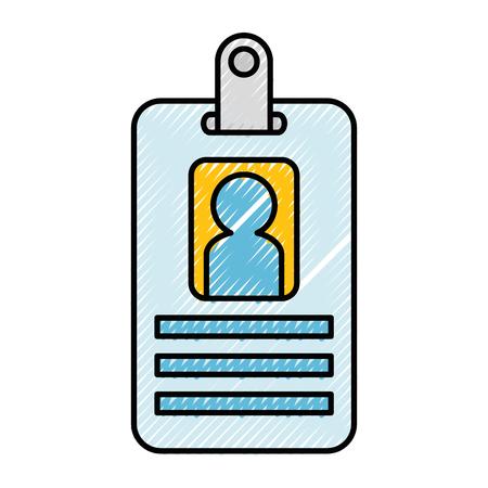 Arbeiter Abzeichen isolierten Symbol Vektor Illustration Design Standard-Bild - 87691851