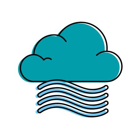 雲天気風ベクトル イラスト デザイン