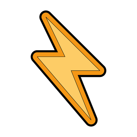 energy ray isolated icon vector illustration design