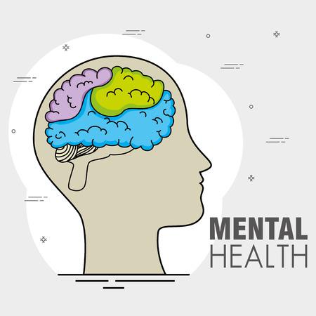 정신 건강 개념 하루 정신 건강 개념의 날