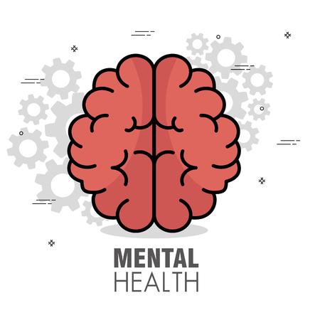 psychische Gesundheit Konzept Tag psychische Gesundheit Konzept Tag