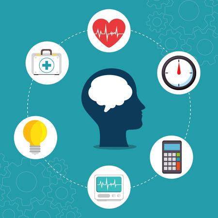 Concepto de salud mental día concepto de salud mental Foto de archivo - 87724552