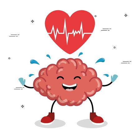geestelijke gezondheid concept dag geestelijke gezondheidsdag concept Stock Illustratie