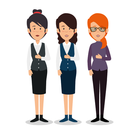 profesional business people vector illustration graphic design