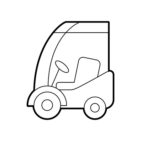 machinery car commercial logistic vehicle vector illustration Иллюстрация