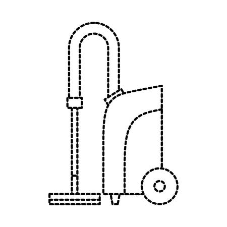 Ilustración de vector de electrodomésticos de equipo de aspiradora Foto de archivo - 87733437