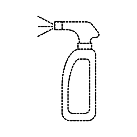 cleaning spray bottle laundry disinfect fluid vector illustration