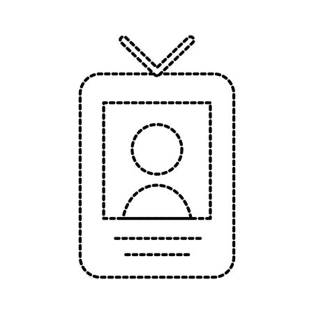 uitzending scherm met persoon moderne vectorillustratie