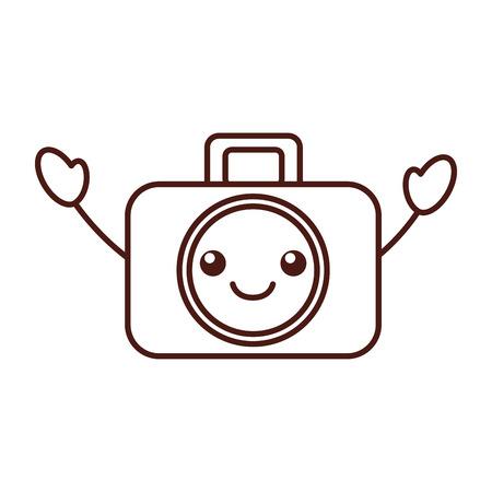 グラフィック デザイン カメラ スタジオ アイコン シンボル漫画ベクトル図  イラスト・ベクター素材