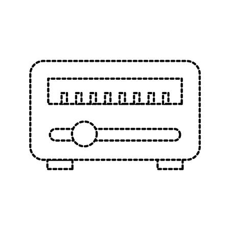 wifi-router en modem apparaat draadloze technologie vectorillustratie