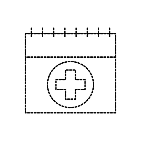 calendar for menstrual period female healthy vector illustration