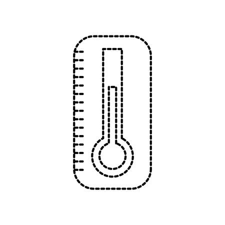 温度計医療機器医療健康ベクトル図