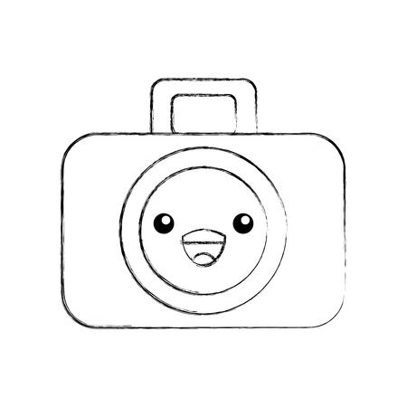 graphic design camera studio cartoon vector illustration Çizim