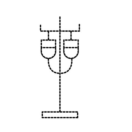 スポイト解決 iv スタンド サプライ バッグ サポート ベクトル図