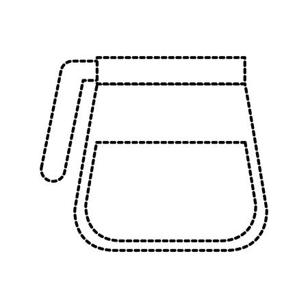 glass coffee maker kitchen equipment vector illustration Imagens - 87732302