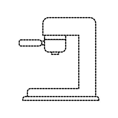 coffee machine automatic appliance electric vector illustration Illustration