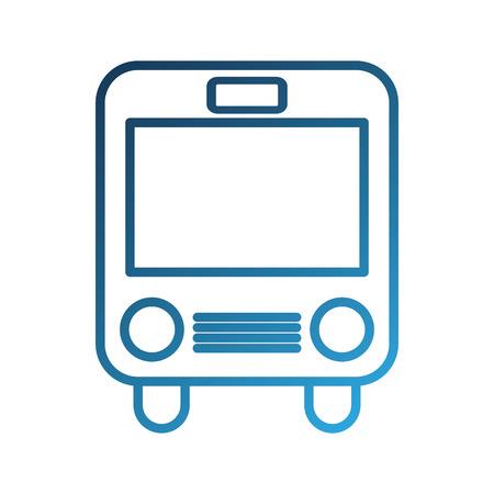school bus transport children passenger student vector illustration