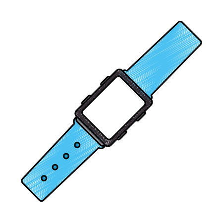 wristle watch isolated icon vector illustration design