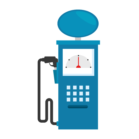 fuel station pump icon vector illustration design