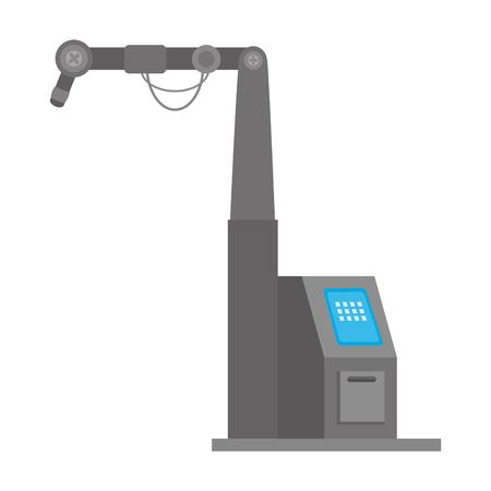 Machine ensemble isolé icône du design d & # 39 ; illustration vectorielle Banque d'images - 87745402