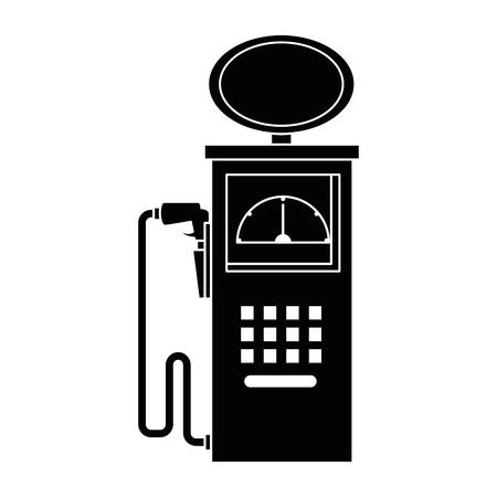 燃料駅ポンプ アイコン ベクトル イラスト デザイン