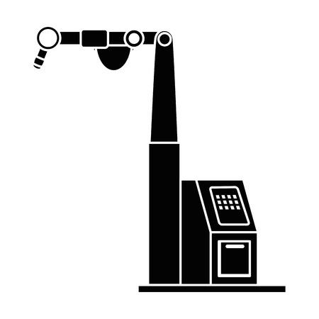 assembly machine isolated icon vector illustration design Illustration