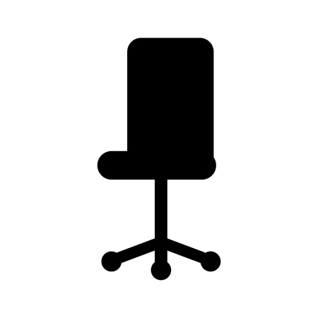 オフィス椅子家具ホイール装置ベクトル図