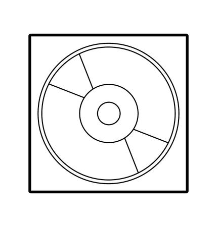 Digital storage Ilustração