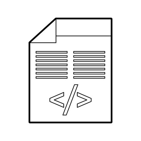 Script de données de codage Banque d'images - 87771557