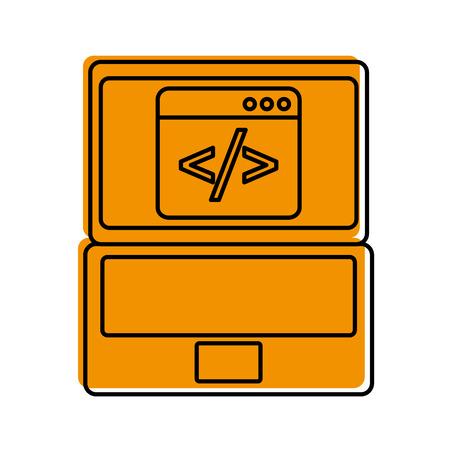 バイナリのコンピューター開発のデジタル ベクトル図をコーディング プログラムの開発 写真素材 - 87758751