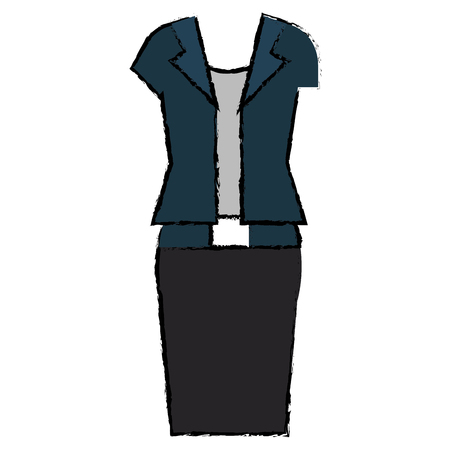 A female casual clothes icon vector illustration design.