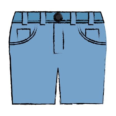 female short clothes icon vector illustration design