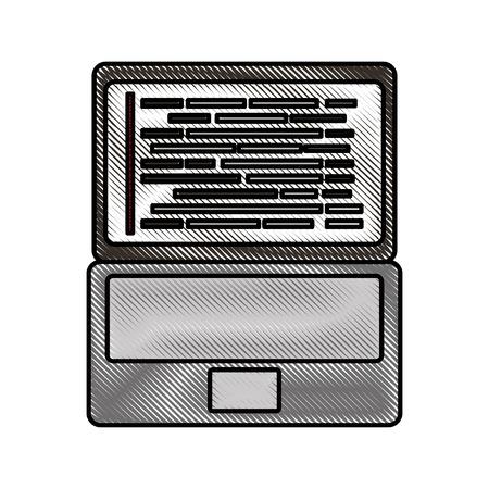 laptop coding concept web developer programming screen code