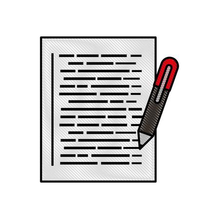 응용 프로그램 개발 웹 페이지 코딩 및 프로그래밍 벡터 일러스트 레이션을위한 문서 일러스트