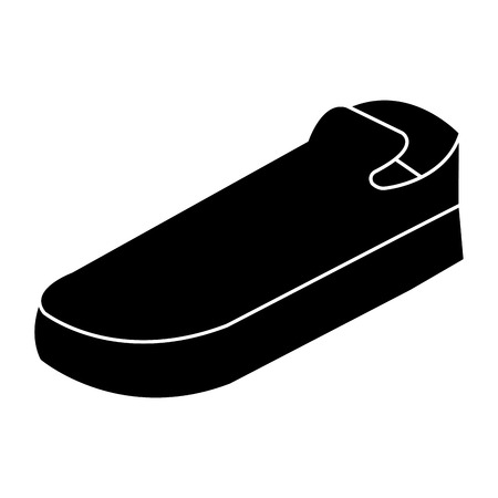 moccasins shoes isolated icon vector illustration design Illustration