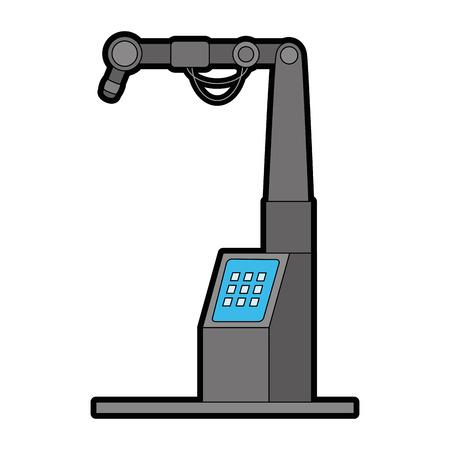 Machine ensemble isolé icône du design d & # 39 ; illustration vectorielle Banque d'images - 87794305