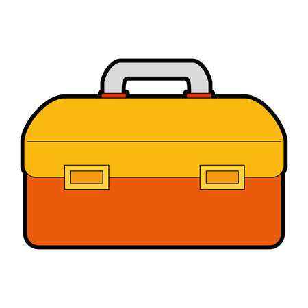 tool box isolated icon vector illustration design