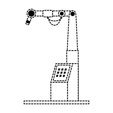 Machine ensemble isolé icône du design d & # 39 ; illustration vectorielle Banque d'images - 87834304