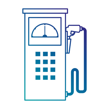fuel station pump icon vector illustration design Stock Vector - 87834071