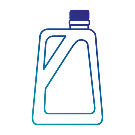 gallon plastic isolated icon vector illustration design