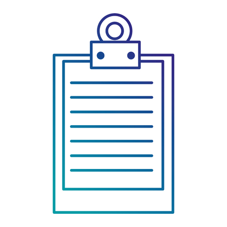 clipboard document isolated icon vector illustration design 版權商用圖片 - 87834223