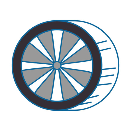 car tires isolated icon vector illustration design