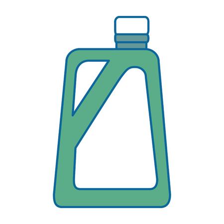 Gallon plastique isolé icône du design illustration vectorielle Banque d'images - 87839583