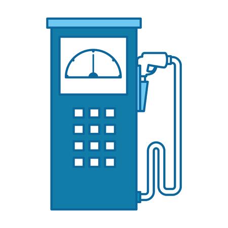 fuel station pump icon vector illustration design
