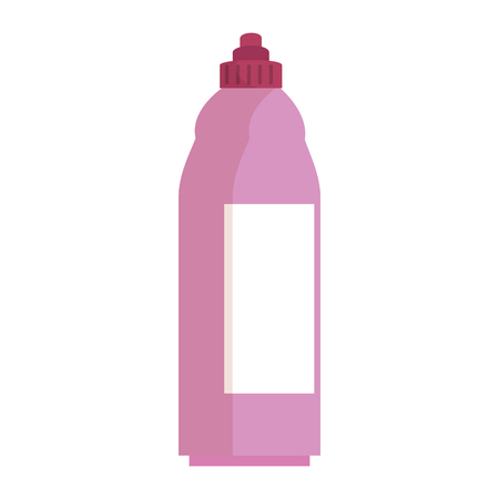 ペットボトル製品アイコンベクトルイラストデザイン